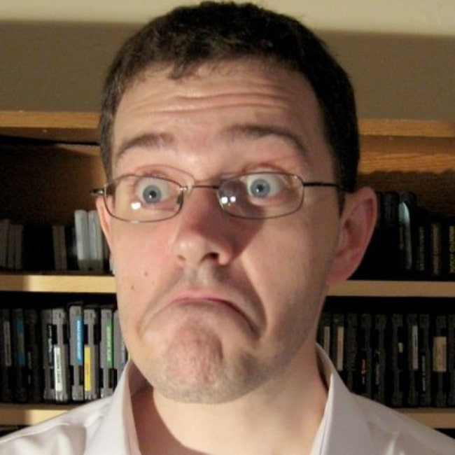 James Rolfe as seen in a picture taken in the past