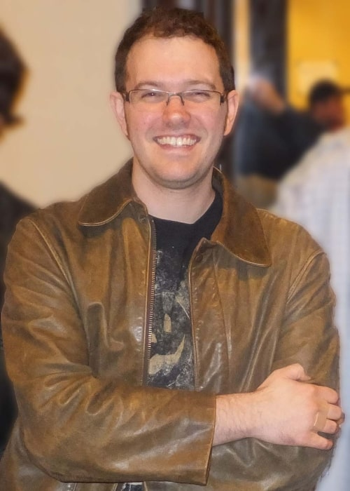 James Rolfe as seen in a picture taken on October 26, 2013