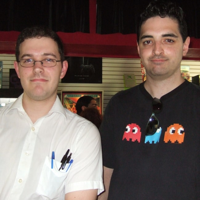 James Rolfe as seen in a picture that was taken with Greg on June 28, 2008