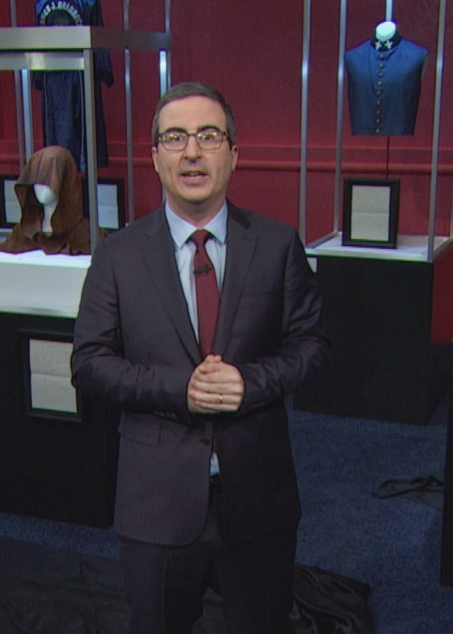John Oliver as seen in an Instagram Post in April 2018