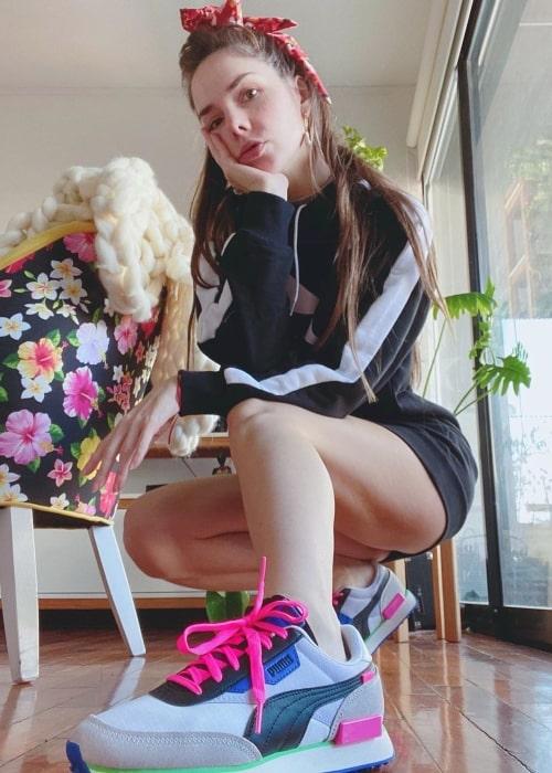 Julieta Nair Calvo as seen in a picture taken in July 2020
