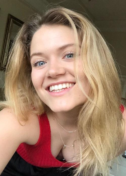 Kelly Lamor Wilson as seen in a selfie that was taken in May 2020