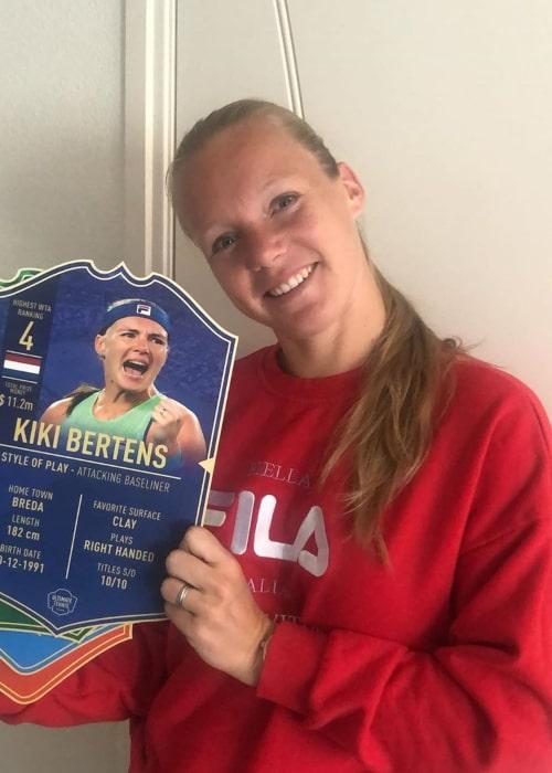 Kiki Bertens as seen in an Instagram Post in July 2020