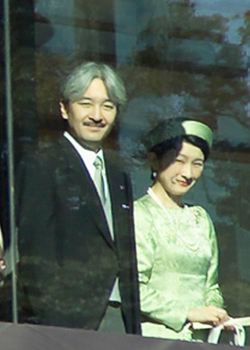 Kiko, Princess Akishino and Prince Fumihito