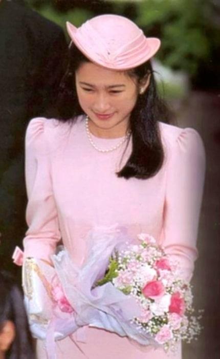 Kiko, Princess Akishino as seen as a newly engaged in 1990