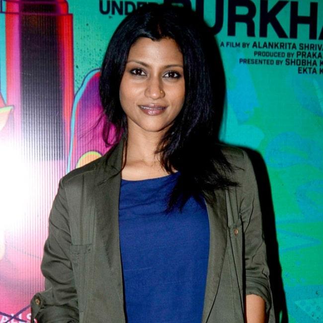 Konkona Sen Sharma at the special screening of 'Lipstick Under My Burkha' in July 2017
