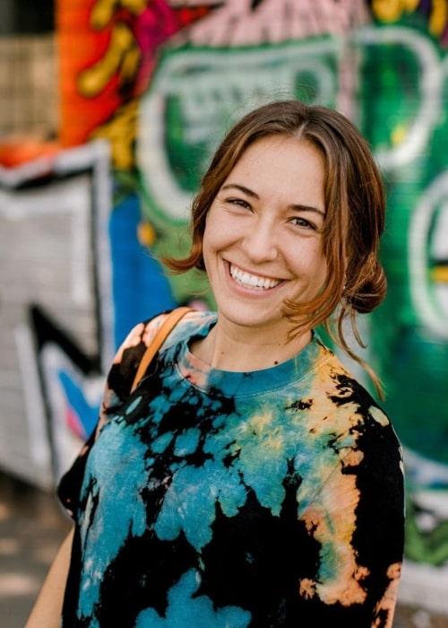 Lauren Daigle as seen in a picture taken July 2020