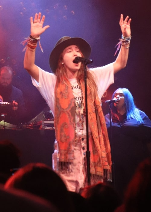 Lauren Daigle's concert in Joy Eslava, Madrid, 2019