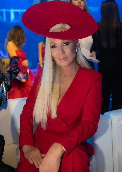 Lepa Brena as seen in an Instagram Post in February 2020