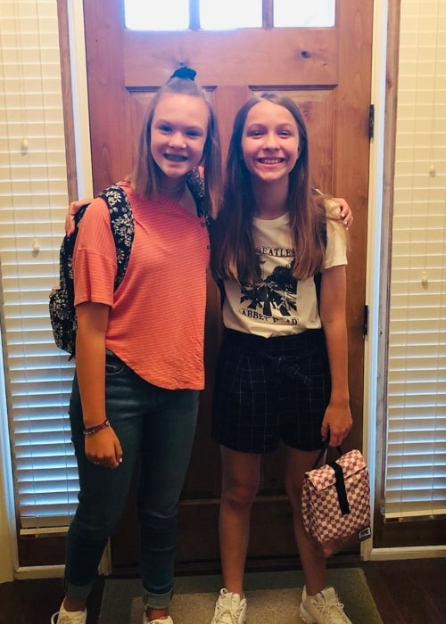 Macey Greer as seen in a picture that was taken with her sister Hailey Greer in August 2019