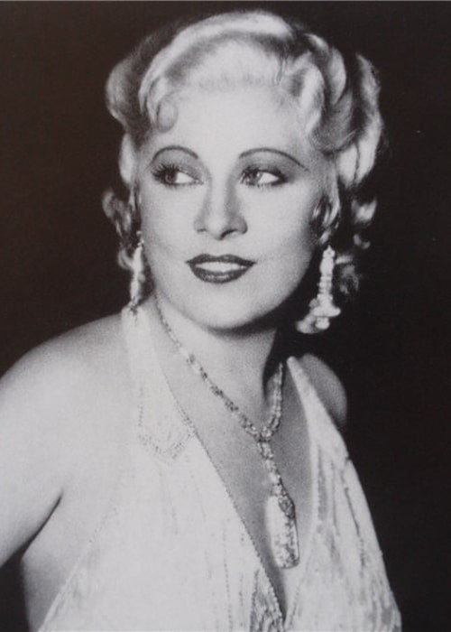 Mae West as seen in a picture taken by the L.A. Times as part of news story