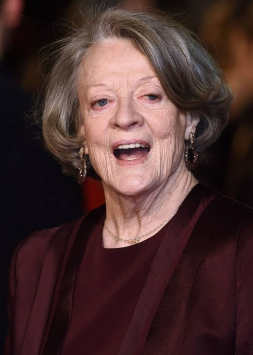 Maggie Smith as seen in an Instagram Post in August 2017