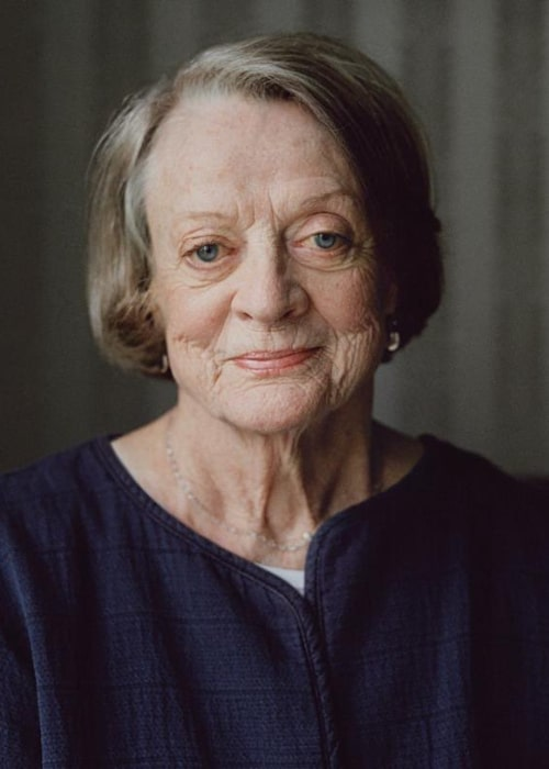 Maggie Smith as seen in an Instagram Post in October 2016