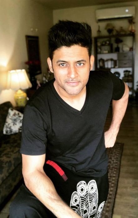 Manav Gohil as seen while posing for the camera in Mumbai, Maharashtra in June 2020