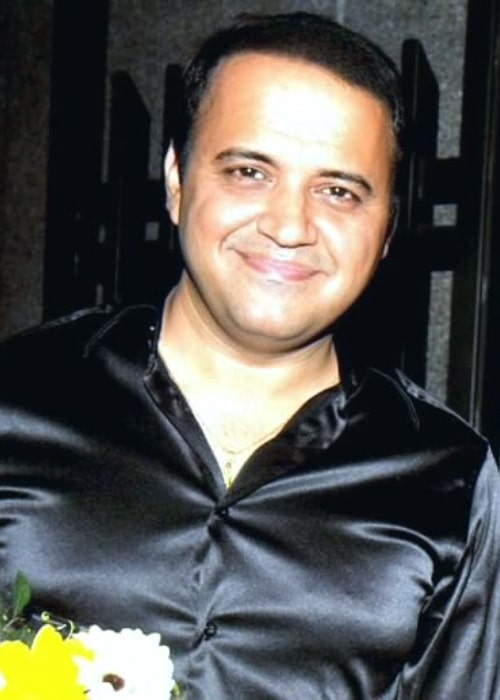 Mandar Chandwadkar as seen while smiling for the camera at the 17th Hira Manek Award
