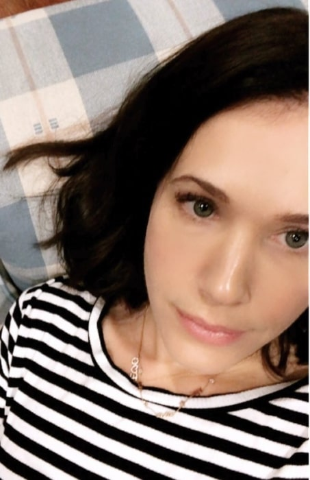 Marla Sokoloff as seen in June 2018