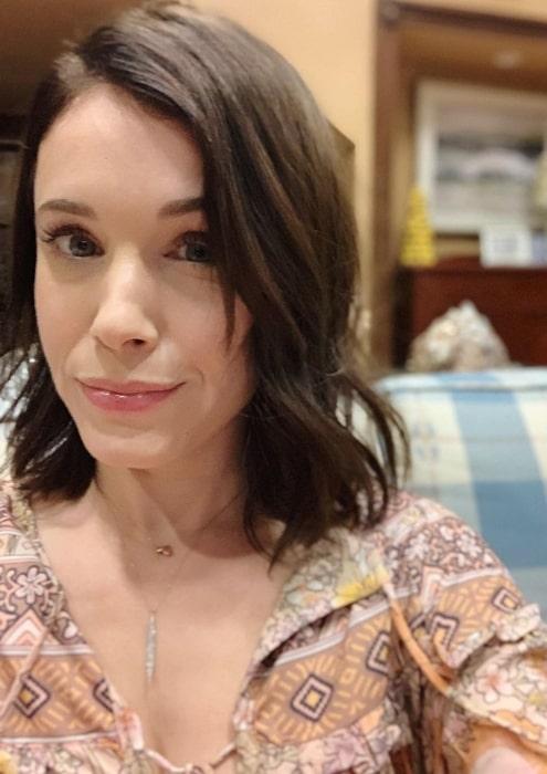 Marla Sokoloff sharing her selfie taken in 2019