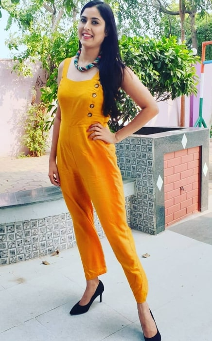 Monika Bhadoriya as seen while posing for the camera in October 2019