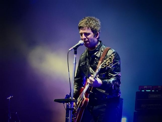 Noel Gallagher as seen performing at the Calling Festival in 2015