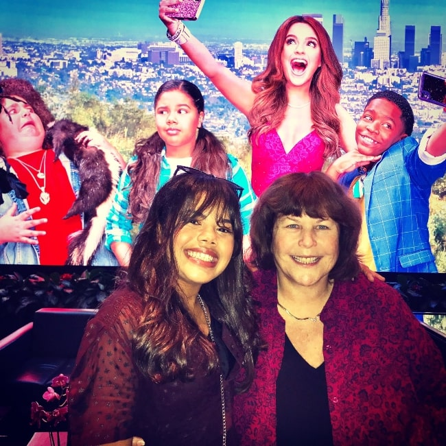 Pamela Eells O'Connell as seen in a picture that was taken with actress Alison Fernandez in September 2019