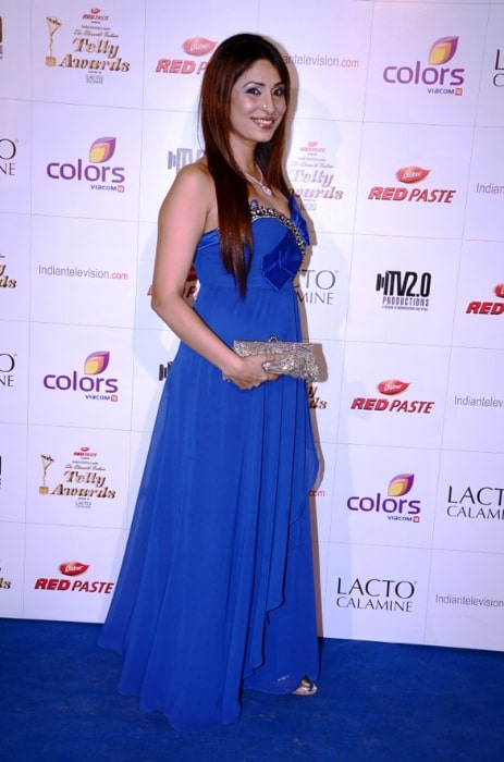 Pooja Misrra at Colors Indian Telly Awards in June 2012