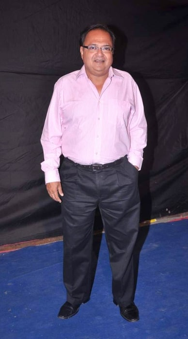 Rakesh Bedi pictured at Colors Indian Telly Awards in June 2012
