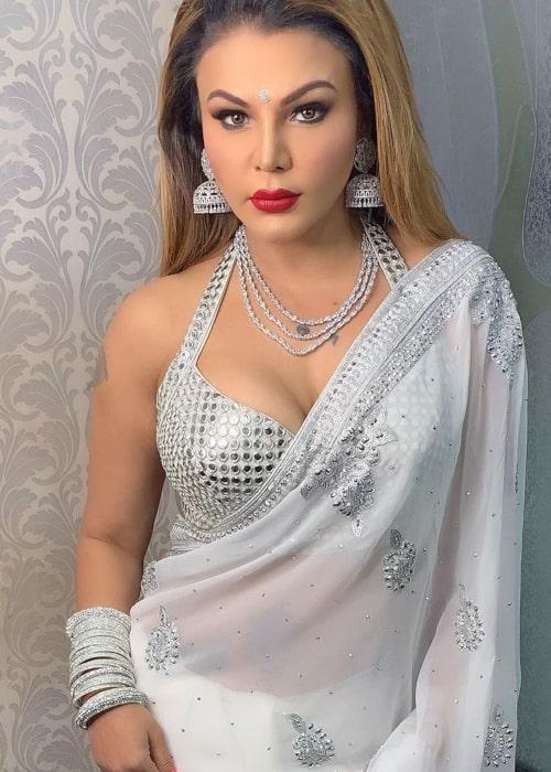 Rakhi Sawant as seen in an Instagram Post in May 2019