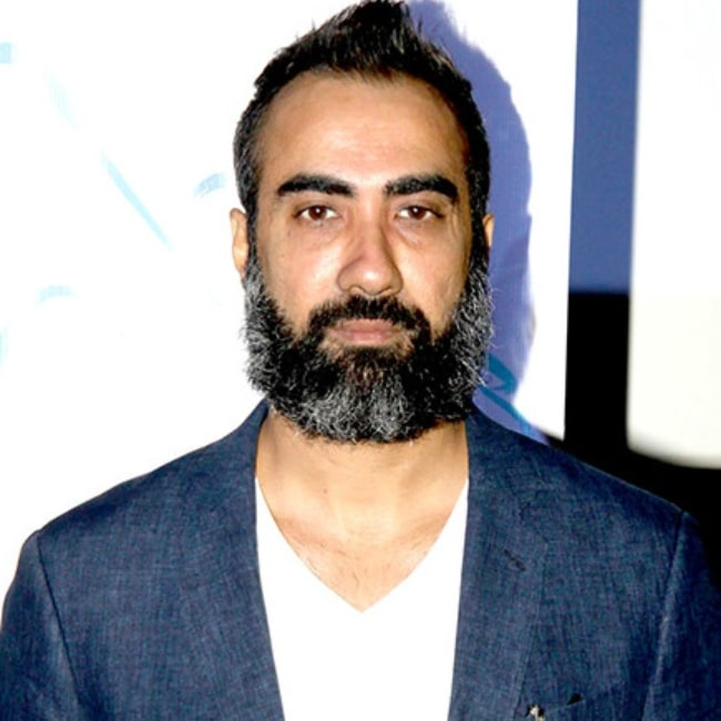 Ranvir Shorey as seen at the press meet for the Hindi film 'Blue Mountains' in December 2015
