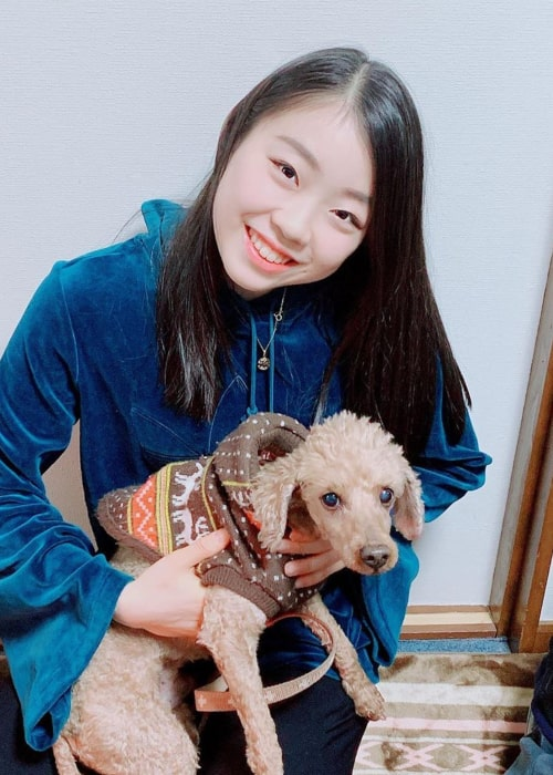 Rika Kihira as seen in an Instagram Post in January 2020