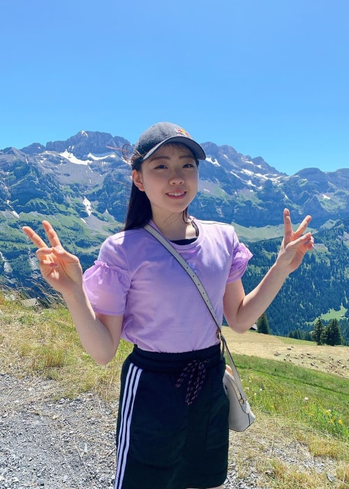 Rika Kihira as seen in an Instagram Post in July 2020