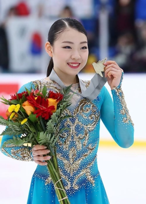 Rika Kihira as seen in an Instagram Post in September 2019