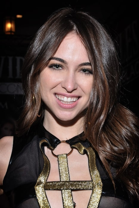 Riley Reid as seen at AVN Expo in Las Vegas, Nevada on January 20, 2016