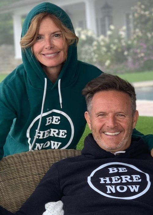Roma Downey and Mark Burnett, as seen in July 2020