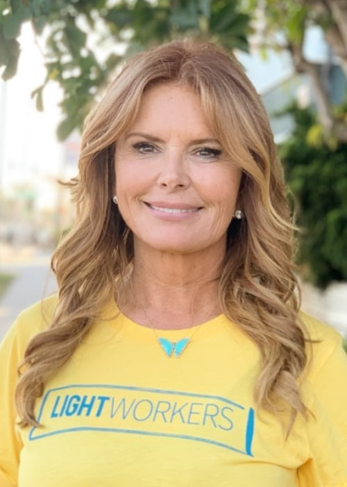 Roma Downey as seen in an Instagram Post in August 2019
