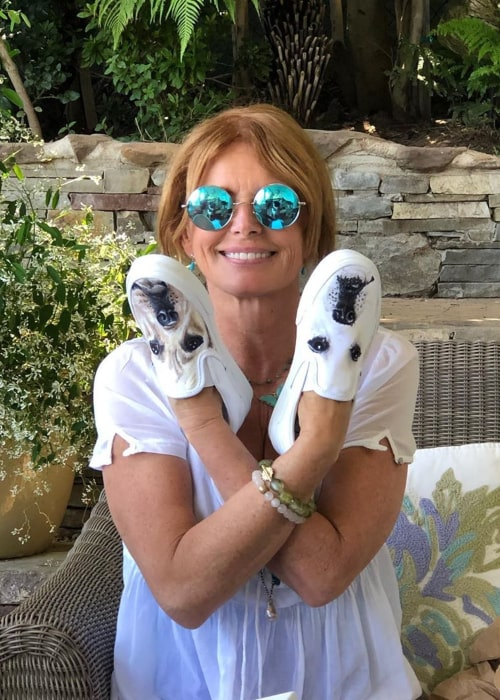 Roma Downey as seen in an Instagram Post in May 2020