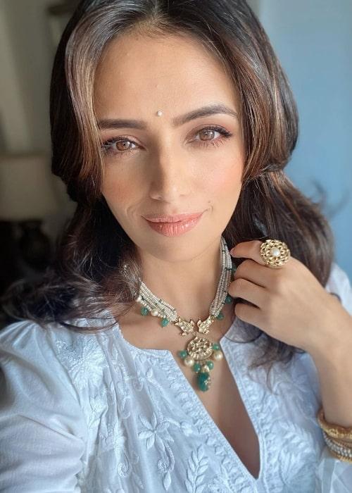 Roshni Chopra as seen in a selfie in July 2020