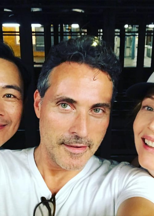 Rufus Sewell in an Instagram selfie from October 2018