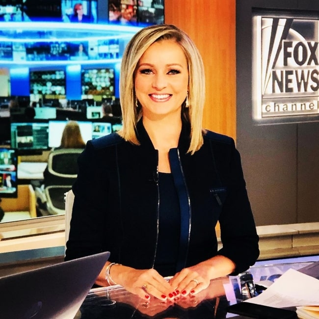 Sandra Smith as seen while smiling for the camera in September 2019