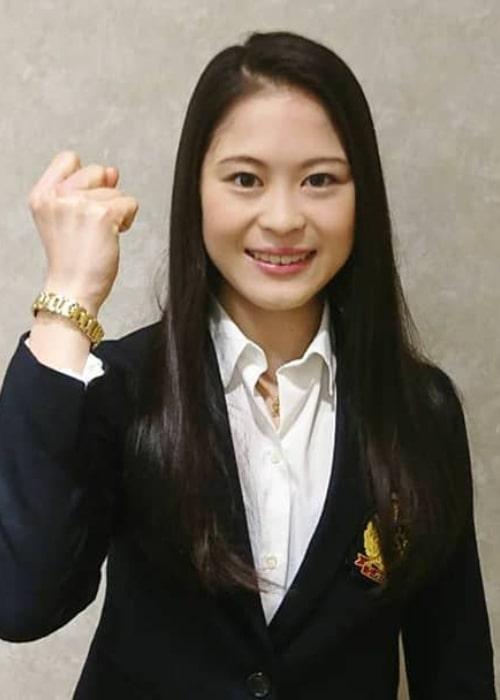 Satoko Miyahara as seen in an Instagram Post in October 2018