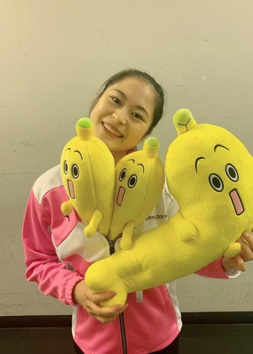 Satoko Miyahara as seen in an Instagram Post in October 2019