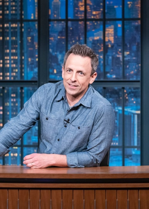Seth Meyers as seen in an Instagram Post in March 2020