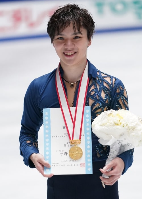 Shoma Uno as seen in an Instagram Post in December 2019