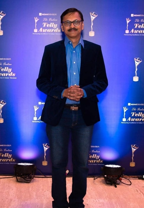 Shyam Pathak posing for the camera during an event