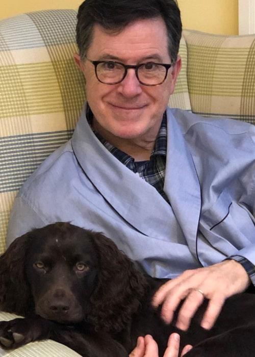 Stephen Colbert as seen in an Instagram Post in December 2019