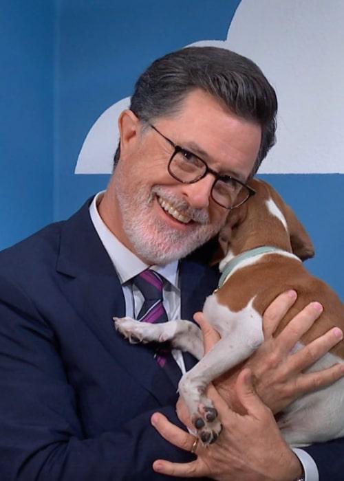 Stephen Colbert as seen in an Instagram Post in September 2018