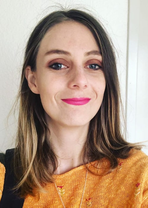 Theodora Lee in an Instagram selfie from October 2019