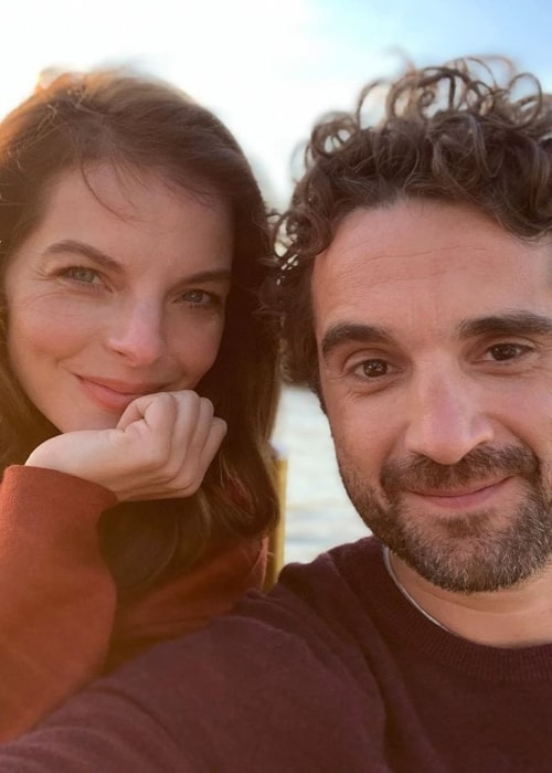 Yvonne Catterfeld and Oliver Wnuk, as seen in June 2019