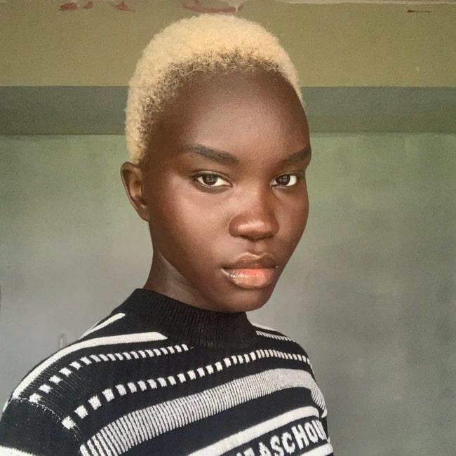 Achenrin Madit in a selfie that was taken in June 2020