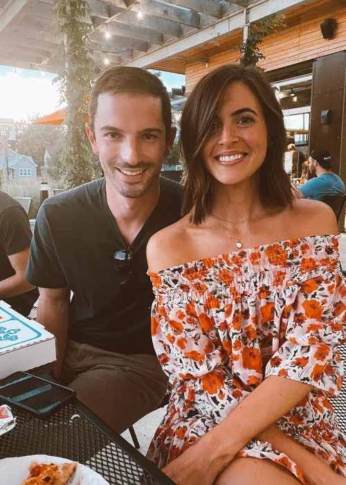 Alexander Rossi and Kelly Mossop, as seen in September 2020