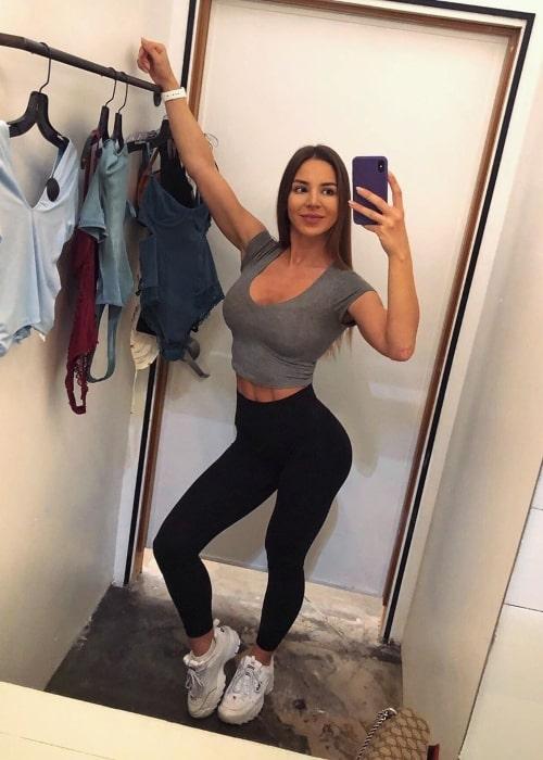 Anfisa Arkhipchenko as seen in a selfie that was taken in June 2019